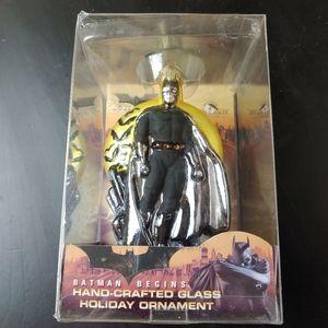 Batman Begins Hand Crafted Glass Ornament